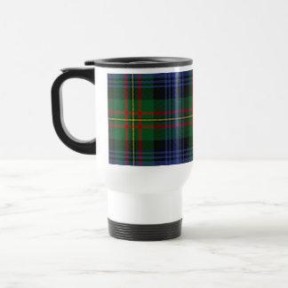 Tela escocesa de MacLaren de la taza del viaje