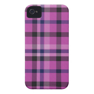 Tela escocesa de tartán adaptable de la tela iPhone 4 carcasa