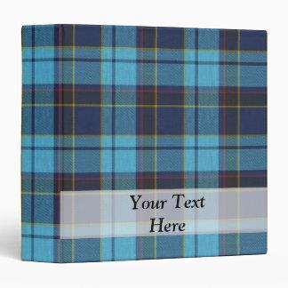 """Tela escocesa de tartán azul carpeta 1 1/2"""""""