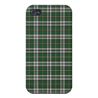 Tela escocesa de tartán bretona del cabo iPhone 4/4S carcasas