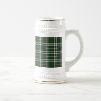 Tela escocesa de tartán bretona del cabo taza