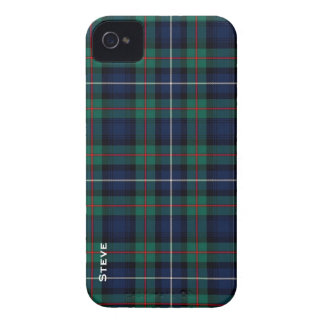Tela escocesa de tartán colorida de la familia de  iPhone 4 fundas