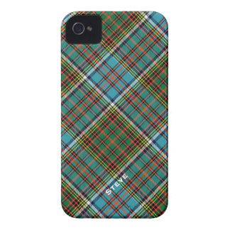 Tela escocesa de tartán colorida del clan de Ander iPhone 4 Case-Mate Protectores