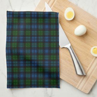 Tela escocesa de tartán escocesa de Campbell Toallas