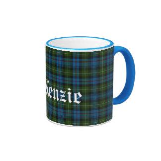 Tela escocesa de tartán escocesa de encargo del cl taza de café