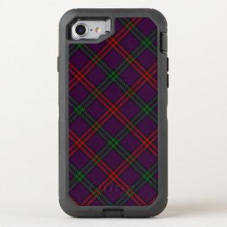 Tela escocesa de tartán escocesa de Montgomery del Funda OtterBox Defender Para iPhone 7