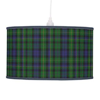 Tela escocesa de tartán escocesa elegante de MacBr Lámpara De Techo
