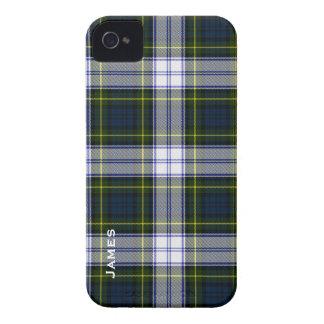 Tela escocesa de tartán hermosa del vestido de Gor iPhone 4 Case-Mate Fundas