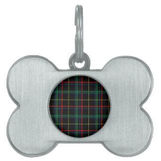 Tela escocesa de tartán masculina