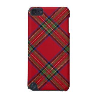 Tela escocesa de tartán real de Stewart Funda Para iPod Touch 5G