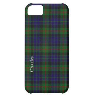 Tela escocesa de tartán tradicional de Gunn Funda Para iPhone 5C