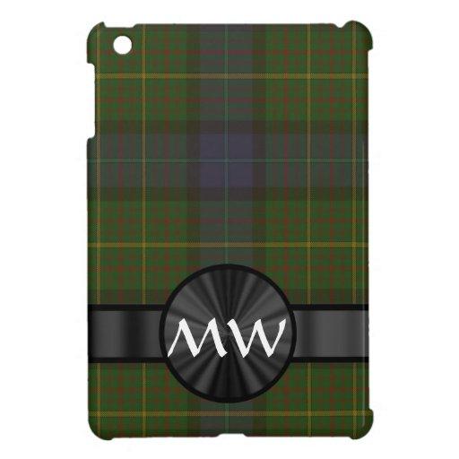 Tela escocesa de tartán verde del estado de