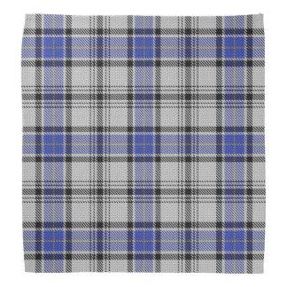Tela escocesa de tartán vieja de Hannay del clan Bandana