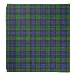 Tela escocesa de tartán vieja de MacEwen del clan Bandanas