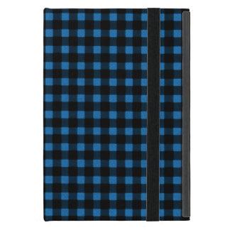 Tela escocesa del búfalo del invierno del negro iPad mini carcasa