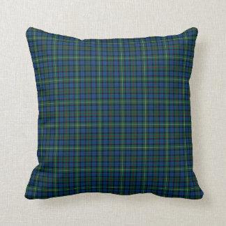 Tela escocesa del escocés del clan de MacEwan del Cojín Decorativo