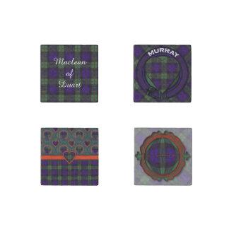 Tela escocesa del escocés del tartán de Murray Imán De Piedra