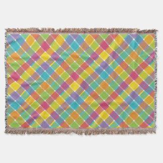 Tela escocesa diagonal 1 manta