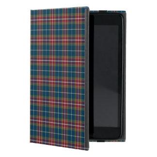 Tela escocesa ecléctica del tono de la joya iPad mini protector