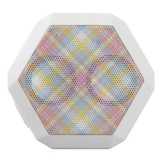 Tela escocesa en colores pastel de la raya