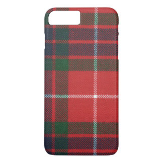 Tela escocesa escocesa del clan del tartán de funda iPhone 7 plus