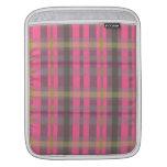 Tela escocesa fundas para iPads