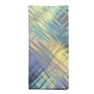 Tela escocesa garabateada moderna en colores del p servilletas de papel