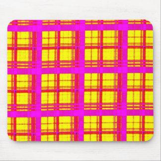 Tela escocesa llana 2f mouse pads