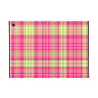 Tela escocesa moderna de la diversión linda femeni iPad mini coberturas