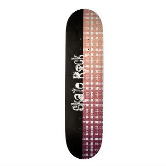 Tela escocesa moderna rosada con mirada del brillo patin