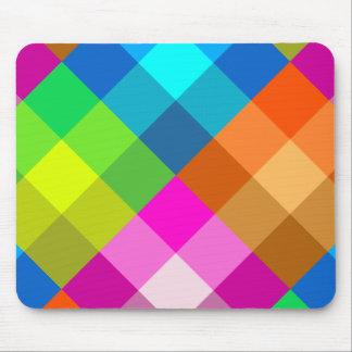 Tela escocesa Mousepad del arco iris