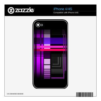Tela escocesa perfecta futura iPhone 4 skin
