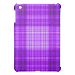 Tela escocesa púrpura