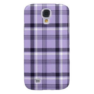 Tela escocesa púrpura de la guinga