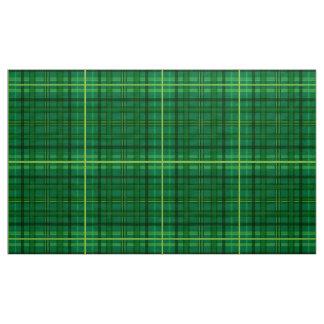 Tela escocesa rayada verde telas