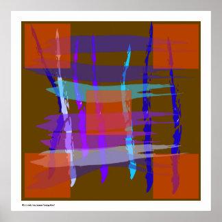 Tela escocesa Razing de Erik Van Jenosen ©2010 Impresiones