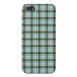 Tela escocesa roja, verde y azul iPhone 5 protector