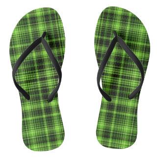 Tela escocesa verde