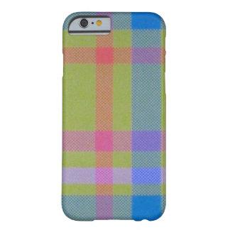 tela escocesa verde funda de iPhone 6 barely there