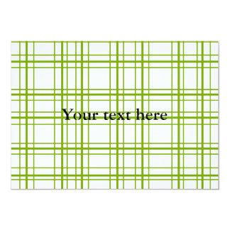 Tela escocesa verde retra en el fondo blanco anuncios personalizados