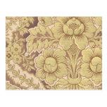 Tela floral del vintage (128) tarjetas postales
