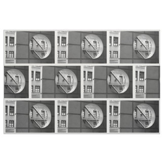 Tela geométrica de la foto de la arquitectura telas