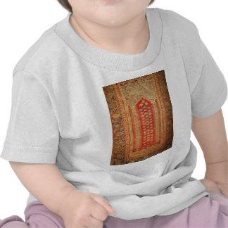 Tela islámica del adorno del vintage de la era her camisetas
