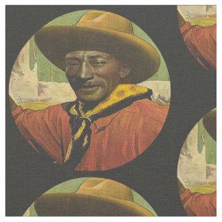 Tela negra del vaquero de Bill Pickett Telas
