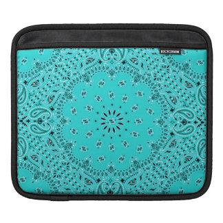Tela occidental de la bufanda de Paisley del pañue Funda Para iPads
