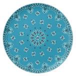 Tela occidental de la bufanda del pañuelo de Paisl Platos De Comidas