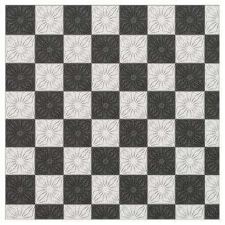 Tela plisada de las esquinas, negra y telas