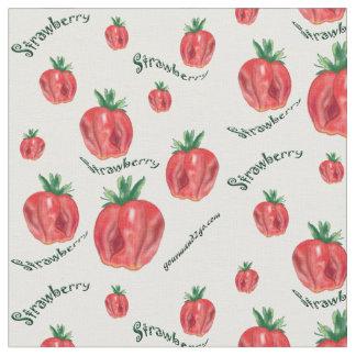 Tela suave de las fresas telas