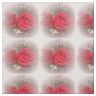 Tela suave de los rosas rojos telas