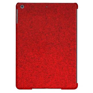 Tela suave roja 2 funda para iPad air